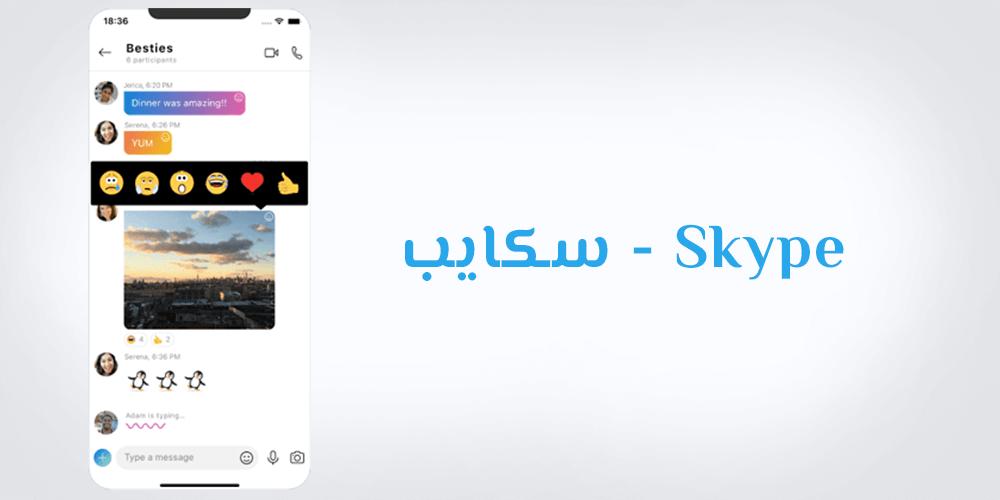 برنامج سكايب Skype