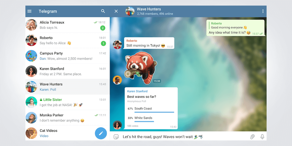 برنامج Telegram