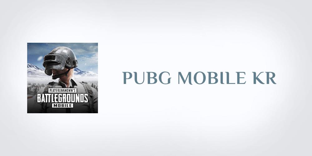 تحميل لعبة ببجي الكورية للاندرويد Pubg Mobile Kr Apk مجانا