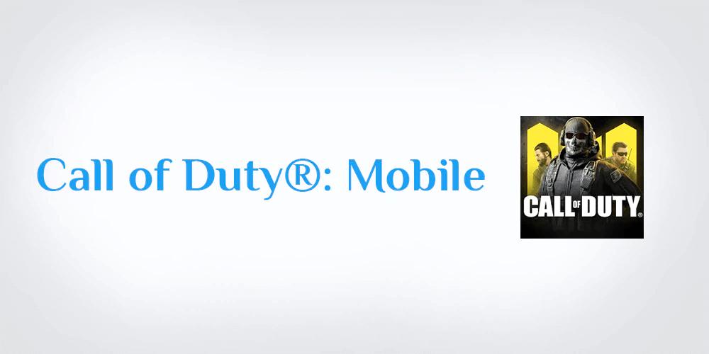 كول أوف ديوتي (COD Mobile) Call of Duty Mobile