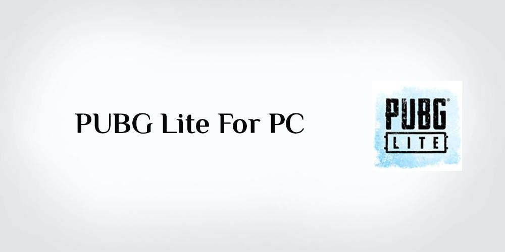 تحميل لعبة ببجي لايت للكمبيوتر تنزيل Download PUBG Lite For PC 2020 رابط مباشر